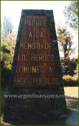 Monumento a los Héroes Comunes - Isla Martín García