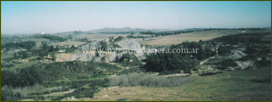 Vista desde El Centinela - Tandil}