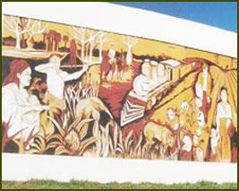Mural del Centenario - Pres. Roque Saenz Peña