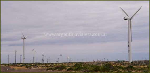 Parque Eólico - Chubut