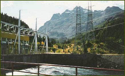 central hidroelectrica de futaleufu: