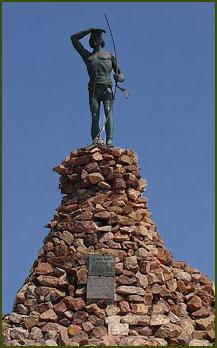 Monumento al Indio Tehuelche - Chubut