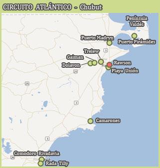 Circuito Atlántico - Chubut
