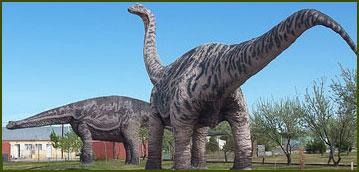 Parque Paleontológico en Sarmiento - Chubut