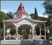 Plaza Central de Trelew - Chubut