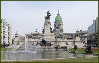 Plaza de los Dos Congresos - Av. de Mayo