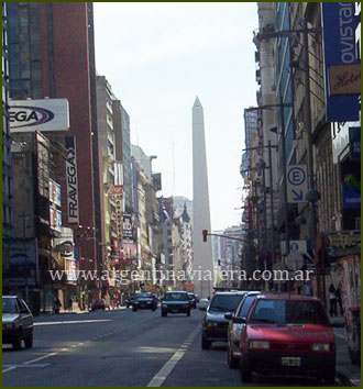 Obelisco - Av. Corrientes