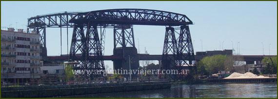 Puente Nicolás Avellaneda - La Boca