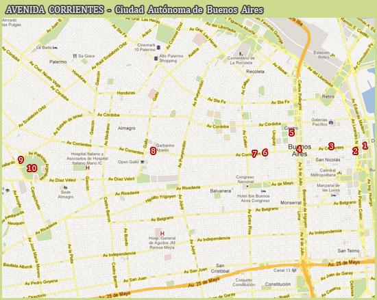 Avenida Corrientes - Ciudad de Buenos Aires