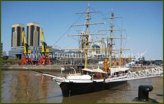 Corbeta Uruguay - Puerto Madero