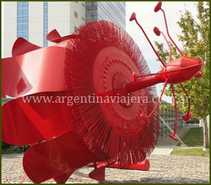 Escultura Pasionaria - Puerto Madero