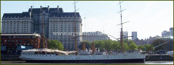 Fragata Sarmiento - Puerto Madero