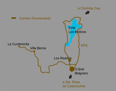 Los Reartes -  Córdoba