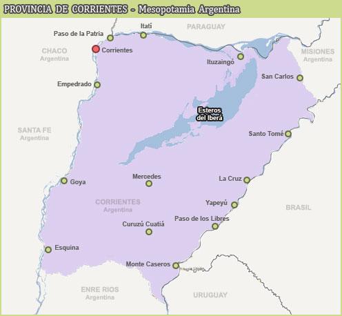 CORRIENTES - Mesopotamia Argentina