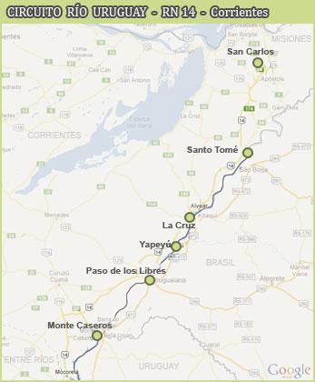 Río Uruguay - RN 14 - Corrientes
