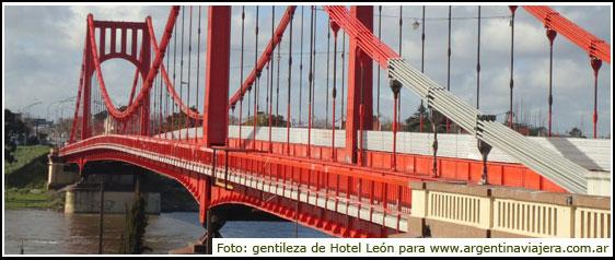 Puente Colgante de Necochea