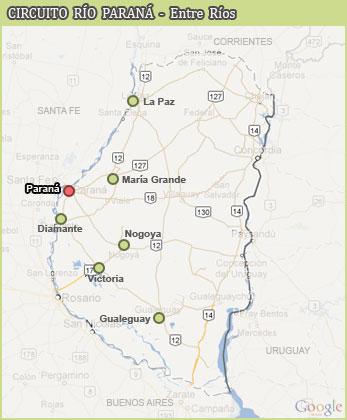 Ruta Nacional 12 - Entre Ríos