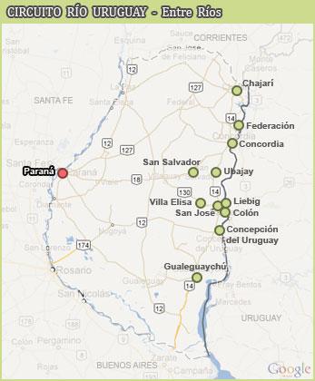 Ruta Nacional 14 - Entre Ríos