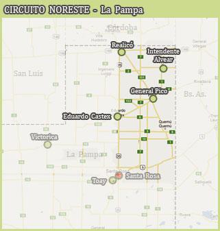 Circuito Noreste - La Pampa