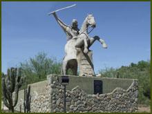 Monumento al Chacho Peñaloza