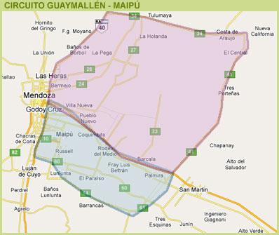 Guaymallén y Maipú - Mendoza