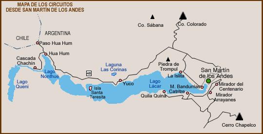 Circuitos - San Martín de los Andes