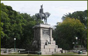 Plaza Pringles - San Luis Capital