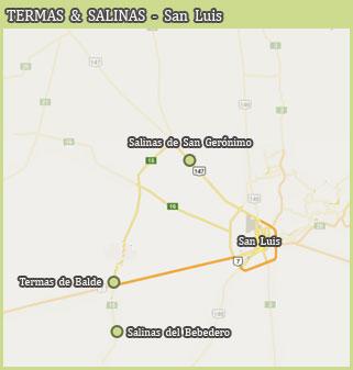 Termas y Salinas - San Luis