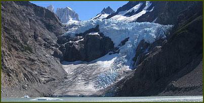 Glaciar Piedras Blancas - El Chaltén