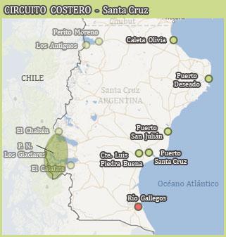Circuito Costero - Santa Cruz