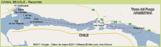 Canal Beagle - Tierra del Fuego